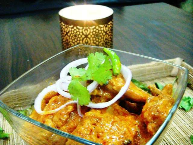 chicken korma, thick, gravy, indian, recipe, recipes