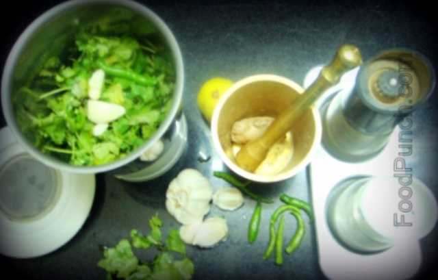 Coriander, green, chutney, sauce, fresh, side dish, add-ons, dressing, indian, vegetarian, snacks