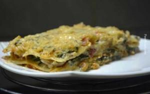 spinach, mushroom, recipe, recipes, lasagne, lasagna, cheese, veg, vegetarian, Italian dish, Italian recipe