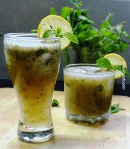 mango, mangos, mint, drink, recipe, recipes, mocktail, refreshing, aam panna, juice, indian drink, summer drink