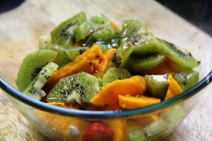 fresh salad, fruit salad, healthy salad, fruit salad recipe, mangoes salad, kiwi fruit salad, veg recipe, gluten free, healthy snacks, recipe, recipes
