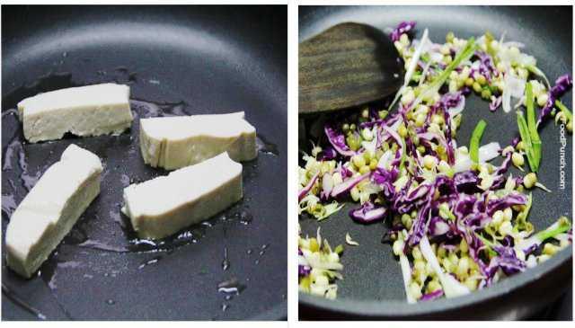 healthy, vegan, lunch recipe, snack, spring rolls, veg recipe, vegetarian recipe, tofu recipe, bean sprout recipe