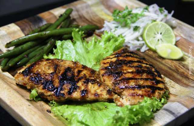 spicy grilled chicken, grilled chicken breasts, grill chicken, chicken recipe, sunday brunch, chicken platter, non veg recipe, non vegetarian, recipe, recipe, chicken breast recipe, tikka style grilled chicken, indian grilled chicken