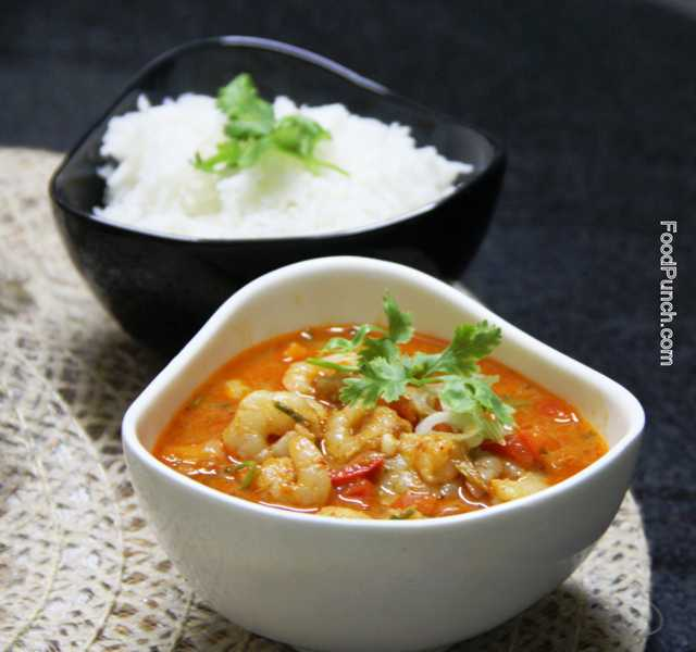 thai red curry, thai curry, thai prawn curry, prawn curry, thai curry, non veg recipe, thai recipe, thai food, spicy curry