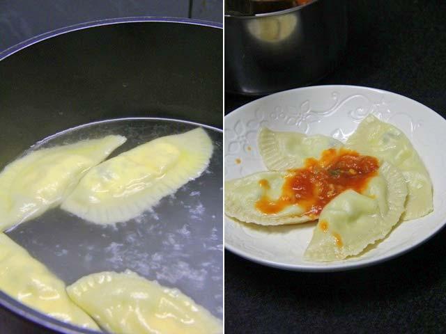 cheese ravioli, ricotta ravioli, ravioli with tomato sauce, homemade pasta recipe, homemade ravioli, pasta with tomato sauce, ravioli with tomato basil sauce, ravioli with marinara sauce, vegetarian ravioli recipe, pasta recipe, fresh pasta