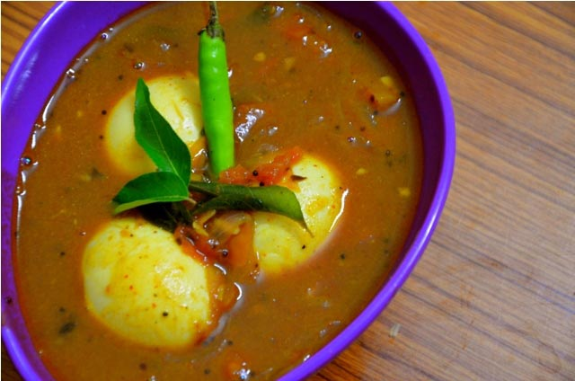 Egg Curry Recipe Andhra Style