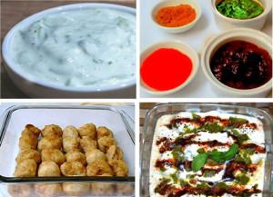 Dahi bhallas, dahi wada, dahi vada, bihari snck, holi recipe, indian festival recipe, yogurt dumplings, yogurt recipe, dahi recipe, curd and lentil dumplings, veg recipe