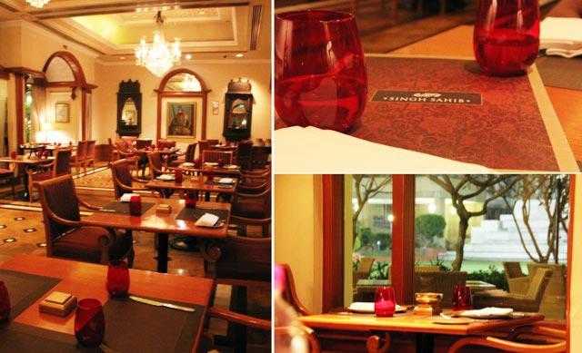 singh sahi restaurant, singh sahib at intercontinental delhi, restaurant in nehru place, punjjabi restaurant in delhi, delhi's best punjabi restaurant, Singh sahit at Eros hotel, delhi restaurant review