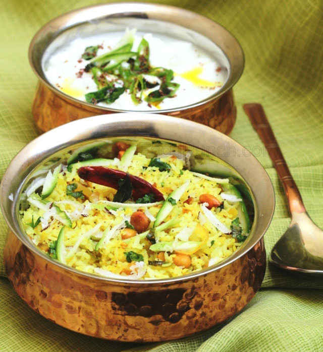south indian style recipe, tadke wali dahi, Indian tempered curd, Green mango and lemon rice recipe, kairi rice, tangy rice, kerela rice, lemon rice, summer fried rice, rice recipe, indian basmati rice, indian food, indian main course, summer lunch