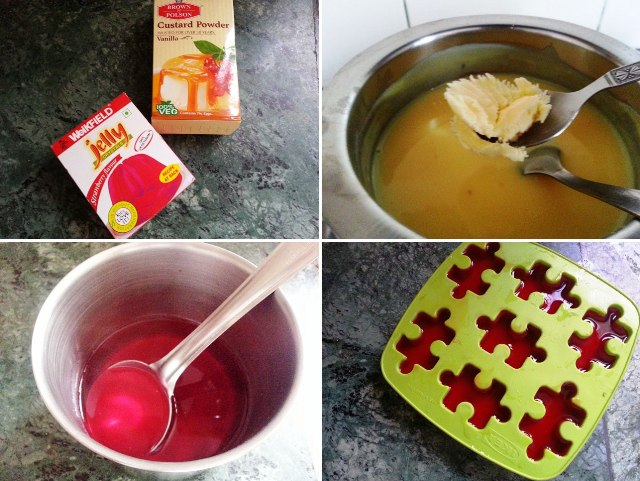 jelly with pudding, jelly recipe, dessert recipe, desserts, pudding with jello, modeled pudding with jello, custard pudding recipe, pudding recipe,