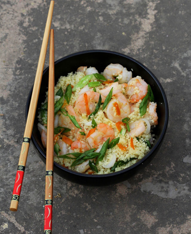 prawn salad, grilled prawn salad, salad, prawn recipe, couscous recipe, prawn and couscous, couscous salad, diet food, non fat lunch, salad lunch, diet lunch, summer lunches, summer recipe, fresh seafood salad, prawns Indian recipe, Vietnamese salad recipe, Vietnamese dressing, starter, main course