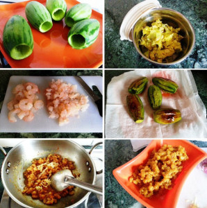 Stuffed Pointed Gourd with shrimps, Potoler Dolma, bengali cooking, bengali cuisine, Indian food, spicy indian shrimps recipe, shrimps recipe, prwan recipe, indian recipe with prawns, fish recipe, fish with vegetables, stuffed parwal recipe, bharwan parwal with prawns, sides recipe, main course