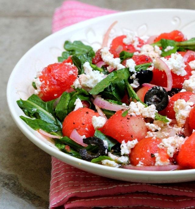 Рецепты с сыром рикотта салат