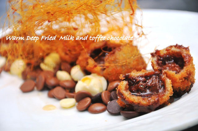 monsoon special snacks, monsoon snacks by chef prem kumar, 5 star snacks for monsoon, baby corn bezule recipe, crispy fried paneer snacks, sweet and sour fried corn recipe, crispy fried prawns recipe, fried chocolates recipe, indian party snacks, part snacks recipe, indian recipes, recipes from The Imperial,