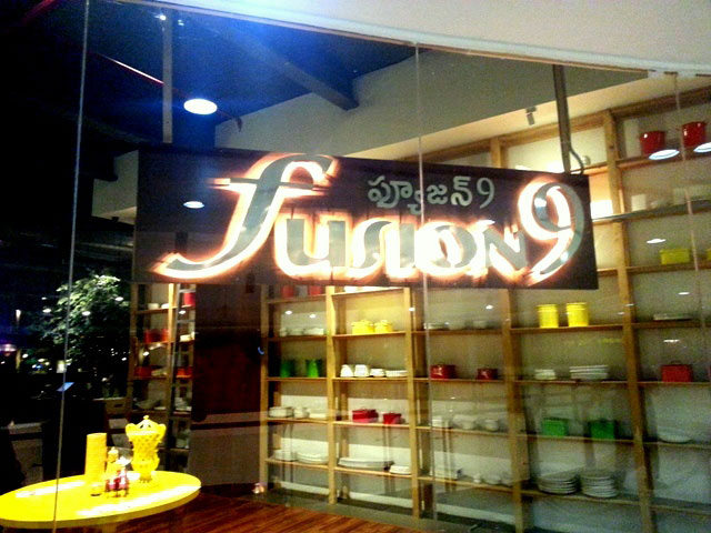 Fusion 9, restaurant review, hyderabad restaurant