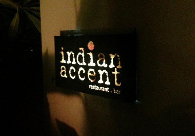 Indian accent, restaurant review, best restaurant in delhi