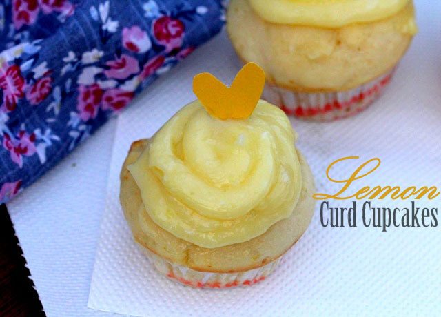 Sugar free Lemon Curd Cupcakes Recipe, cupcakes