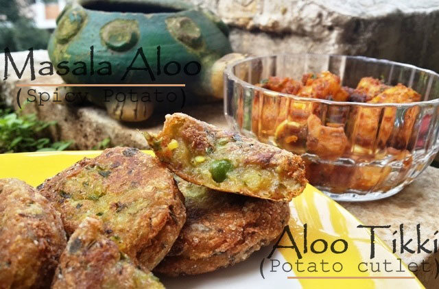 aloo tikki, potato cutlet, potato recipe, aloo bonda