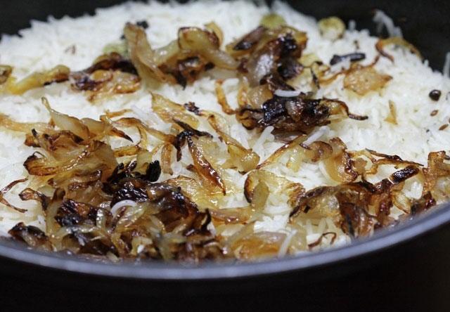 chicken biryani, awadhi biryani, lucknowvi biryani, boneless chicken recipe