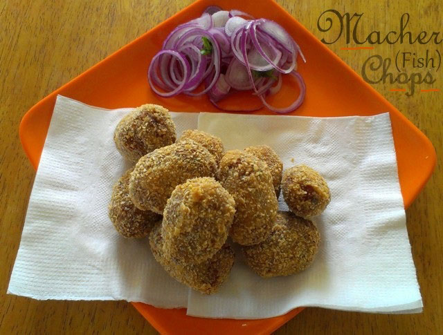 macher chops, fish chops, fish cutlets, fish recipe