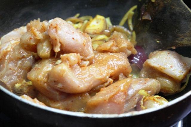Chicken narangi korma recipe, chicken curry, Indian chicken recipe