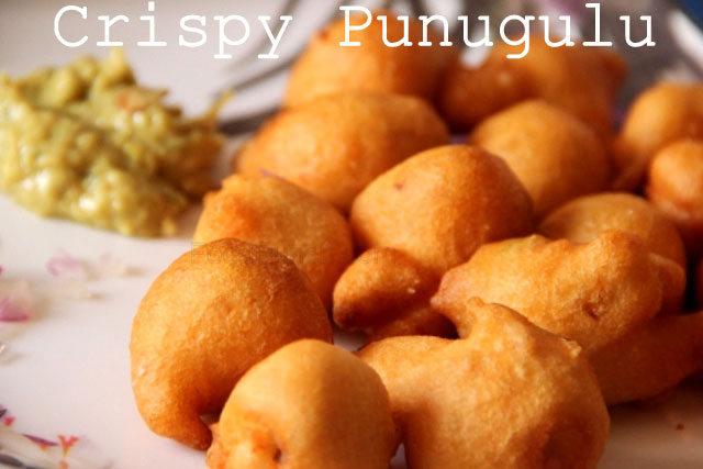 Punugulu Recipe Crispy South Indian Snack, punugulu recipe, andhra street snack