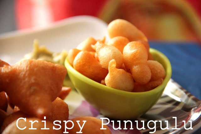 Punugulu Recipe Crispy South Indian Snack, punugulu recipe, andhra street snack