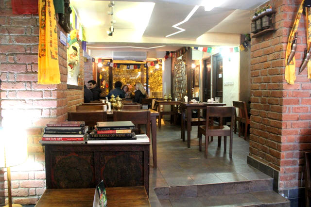 Yeti the himalayn kitchen, delhi restaurant,  Nepalese and Tibetan food in Delhi