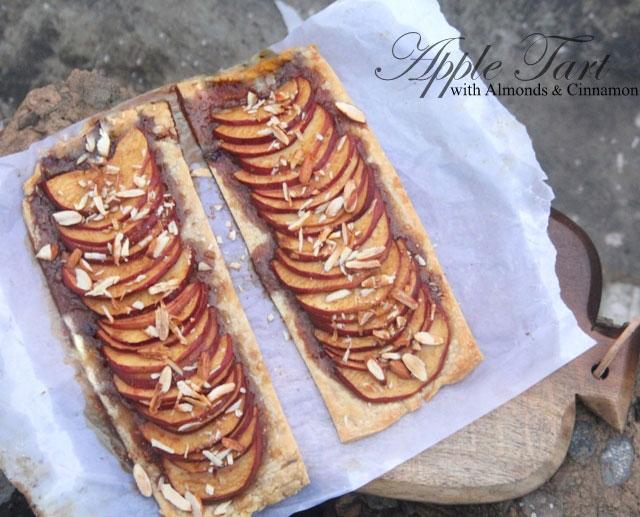 apple tart recipe, simple apple tart recipe, tart recipe, homemade tart