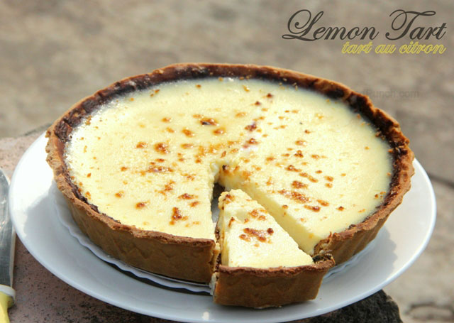 lemon tart recipe, lemon tart, tarte au citron, tart