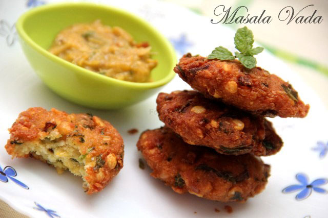 Masala vada recipe, south indian vada recipe, Indian Vada, Indian snack