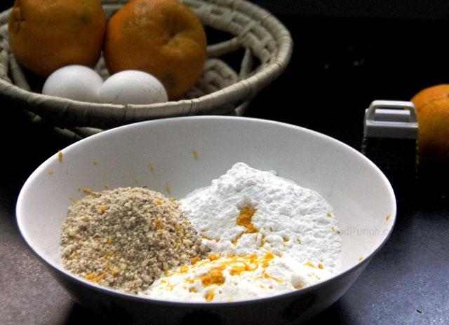 Almond Friands recipe, almond friands, alond friands with orange syrup, orange almond friands, french cake