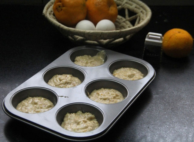 Almond Friands recipe, almond friands, alond friands with orange syrup, orange almond friands, french cake