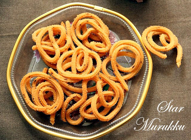 Instant Star Murukku, star murukku, chakli recipe, crispy snack, south indian snack