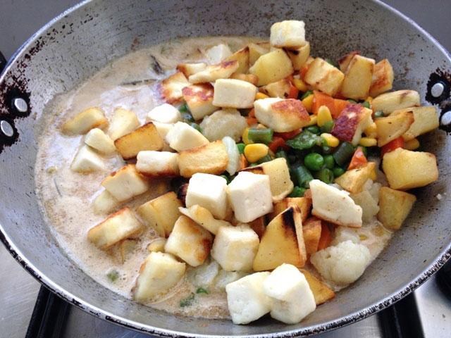 Navratan korma recipe, vegetable korma, mixed vegetable recipe, indian mixed vegetable curry