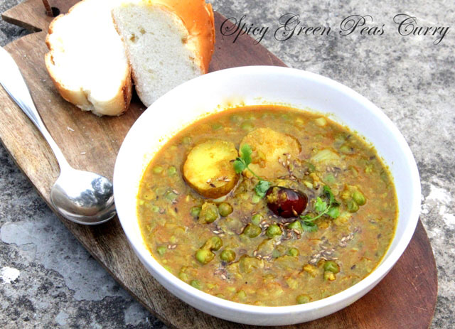 Spicy Green Peas Curry Recipe FoodPunch