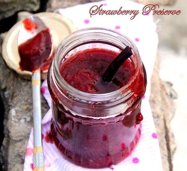 Strawberry preserve, strawberry jam, preserve, strawberry, homemde preserve