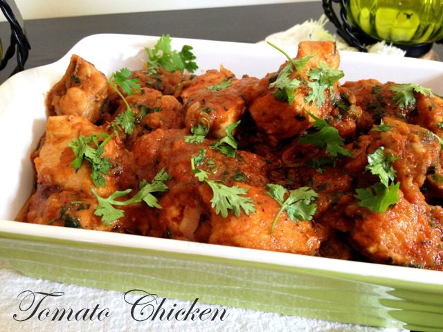 Tomato Chicken Recipe Indian