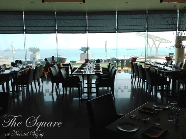 review of the Square, novotel, Visakhapatnam, restaurants in vizag, the square vizag, restuarnts in visakhapatnam