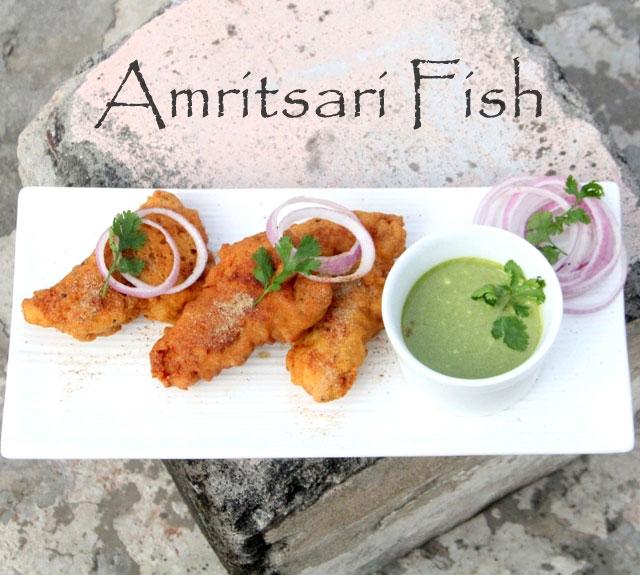 Amritsari fish, crispy fish, fish pakoda, fried fish recipe, fish recipe