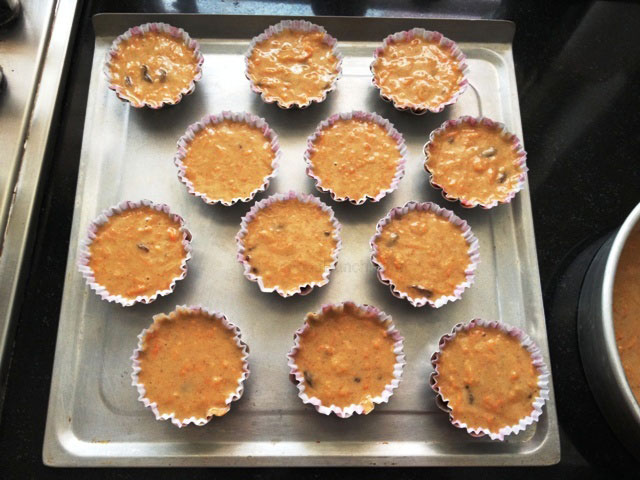 Carrot cupcakes, cupcakes, healthy cakes, tea cakes, muffin