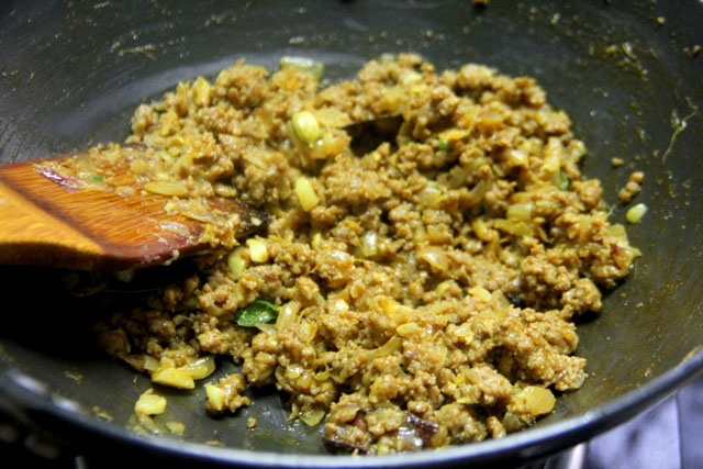 Keema matar recipe, indian mutton curry, minced mutton recipe, keema recipe, minced mutton with green peas