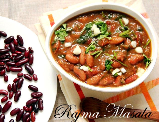 Rajma Masala, Rajma curry, Red kidney beans curry, India kidney beans recipe, rajma