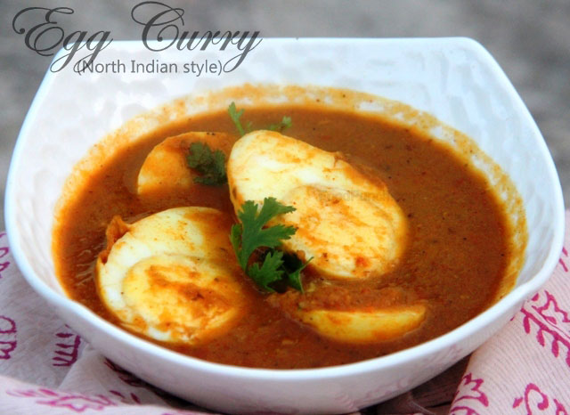 egg curry recipe, egg masala curry, masal egg curry, north Indian egg ...