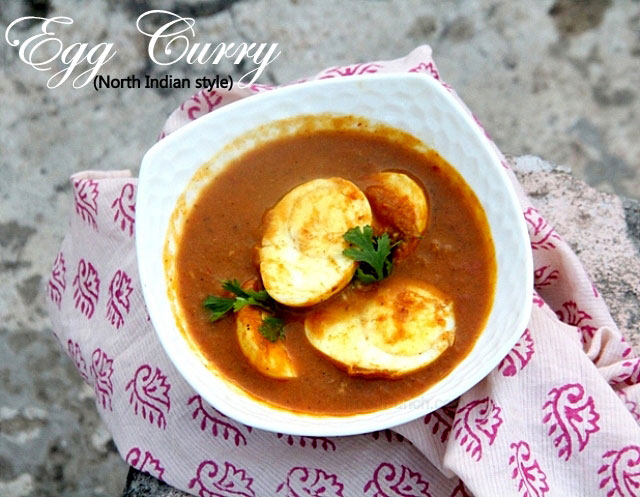 egg curry recipe, egg masala curry, masal egg curry, north Indian egg curry, spicy egg curry