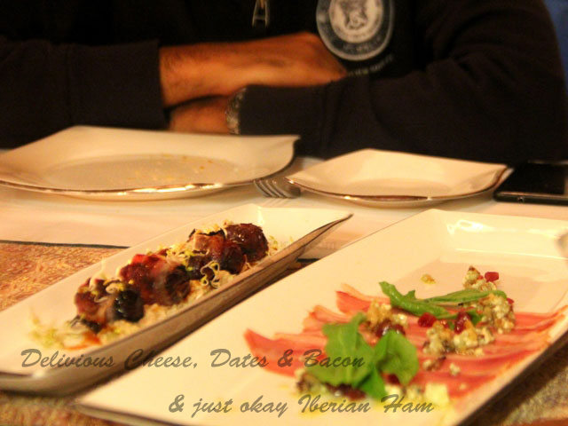 Review of Sevilla, Delhi,Spanish Fine dining in delhi, Mediterranean food in delhi , restaurant review