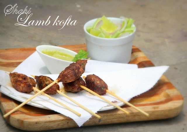spicy lamb kofta, indian lamb kebab, lamb kabab, shahi galouti kabab, keema kabab