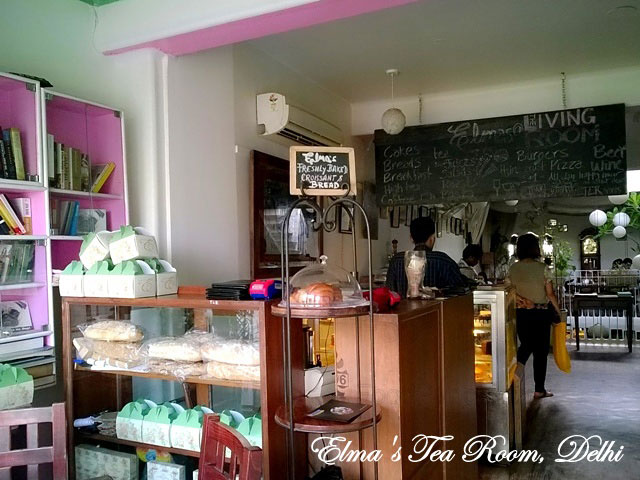 Elma's Tea Room Delhi, Bakery in Delhi,  Cafe in Hauz Khas Village, Best bakery in delhi