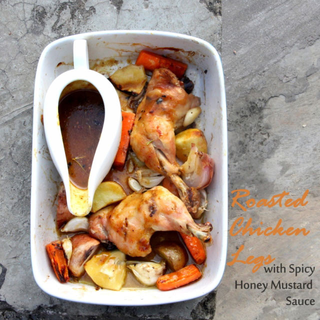 Spicy Honey Mustard Pork Roast Recipe — Dishmaps