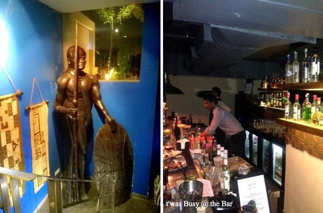 Uzuri Deck and Dining, Delhi, review uzuri, african food in delhi